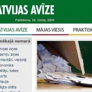 """Laikraksts """"Latvijas avīze"""": Kāpēc pamodās ministre Muižniece Thumbnail"""